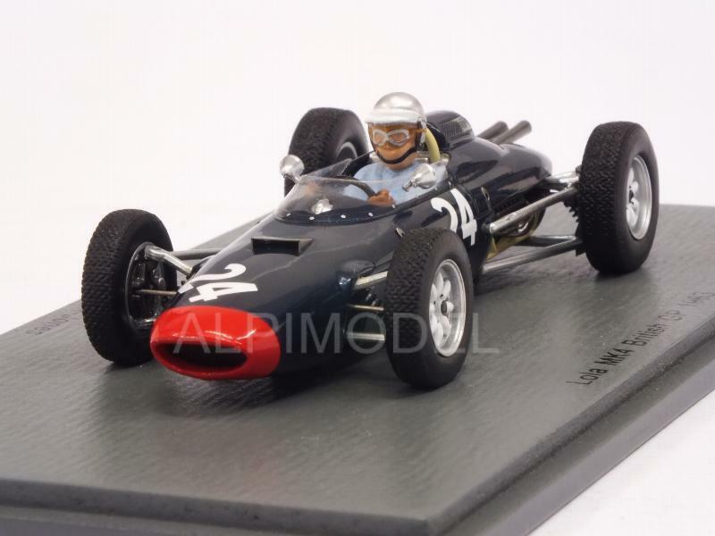 Lola Climax Mk4 British GP 1963 John Campbell-Jones 1 43 SPARK S5332