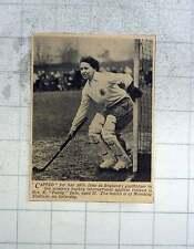 1951 50th Cap For Mrs K Paddy Dale England Hockey Goalkeeper