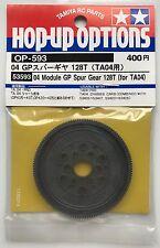 Tamiya 53593 04 Module GP Spur Gear 128T (for TA04) (TA04 PRO/TA-04) NIP