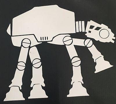 Galactic Empire AT-AT sticker decal Star Wars California Republic Hoth at at Ca