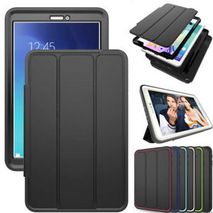 Shockproof-Smart-Cover-Silicone-Case-For-Samsung-Galaxy-Tab-A-S2-S3-E-Tablets