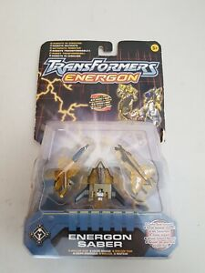 Transformers Energon Saber Minicon Team moc open card free UK delivery