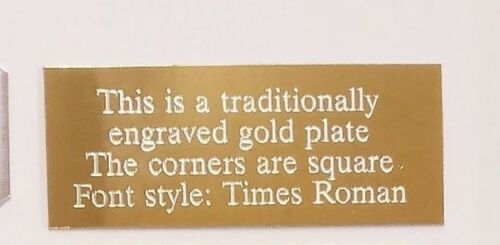 you choose the height plaque x with free engraving 100mm Engraving plate