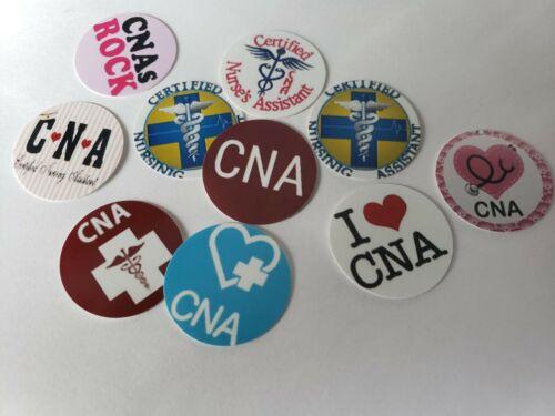Pre Cut One Inch Bottle Cap Images Nurse CNA Free Ship