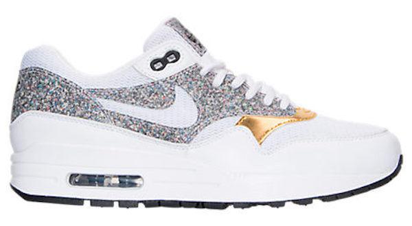 New New New Nike Air Max 1 SE donna Running scarpe scarpe da ginnastica bianca nero Dimensione 5.5 US=36 EU be0493
