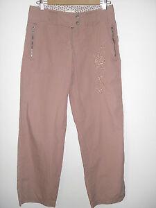 Charlotte-Russe-Sz-3-Casual-Blush-Pants-Juniors-Rose-Decorative-Girls-School