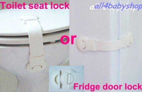Baby Toddler Safety Multi-use Locks Toilet Lock 1-4pcs