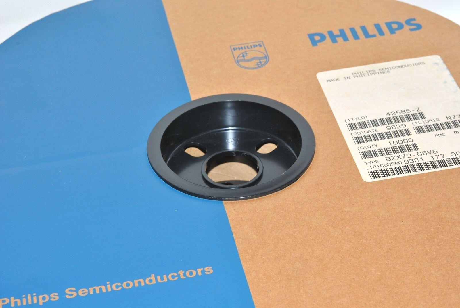 10 x bzx79-b30 silicon Zener-diodo Philips do-35 10pcs