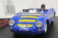 Ninco 50630 Porsche 550 Spyder 20,000 Rpm 1/32 Slot Car In Display Case