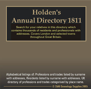 Holden-039-s-Annual-Directory-1811-includes-London-amp-United-Kingdom-Directory