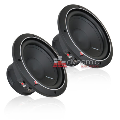 """Rockford Fosgate P1S2-12 Subs SVC 2-Ohm 12/"""" Punch Car Subwoofers 1,000W New 2"""
