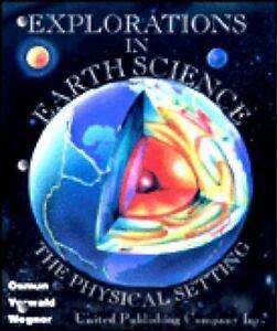 upco s laboratory manual explorations in earth science teacher rh ebay com earth science lab manual fourth edition Earth Science Regents