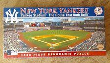 New York Yankees Stadium Panoramic 1000 Piece Puzzle House That Ruth Built New