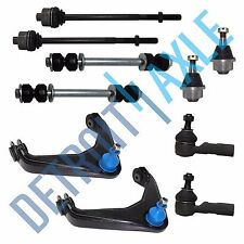 10pc Front Upper Control Arm Sway bar link Ball Joint Silverado 2500 HD 01-2010