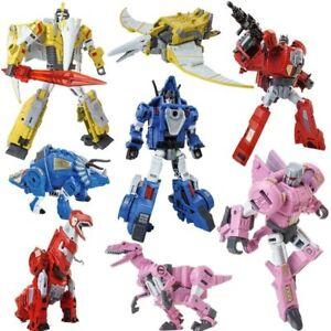 Transformation-Dinobot-Tyrannosaurus-Rex-Triceratops-Robot-Action-Figure-Toys
