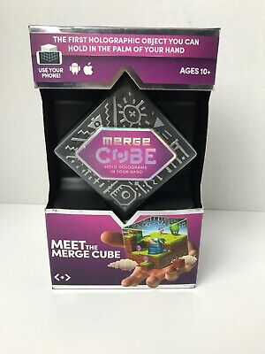 MERGE Cube Fun /& Educational Augmented Reality STEM Toy for Kids Learn Science Math and More