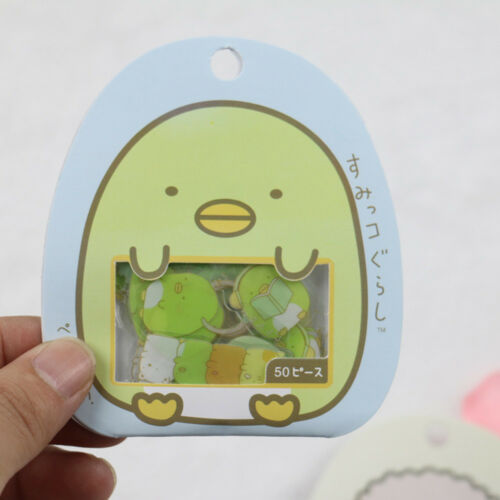 50Pcs Cute Cartoon Japanese Sumikko Gurashi Sticker Anlimals Scrapbooking DIY