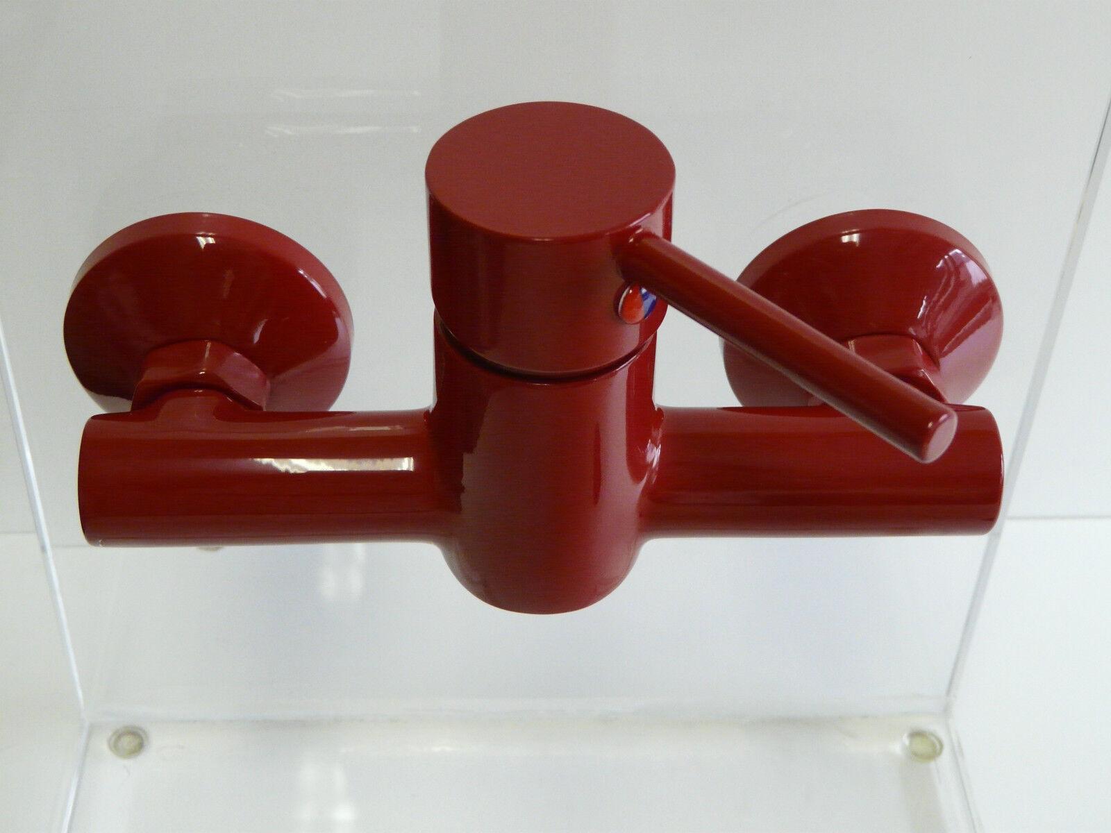 Grifería de ducha rojo ( RAL 3003 ), Grifería ducha, Grifo de ducha,  Laurana