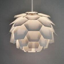 En blanco moderna Alcachofa de techo de estilo Colgante Luz Pantalla De Lámpara de montaje Luces Nuevo