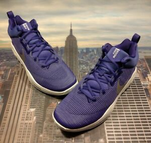 c3c06ae5de87 Nike Zoom Hyper Rev 2017 TB Promo Court Purple Silver Men s Size 13 902589  501