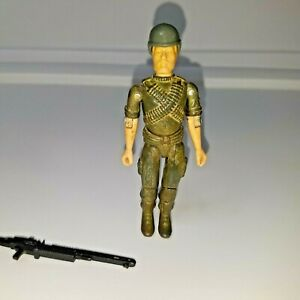 GI-Joe-Machine-Gunner-ROCK-039-ROLL-Action-Figure-1982-vintage-toy-FC