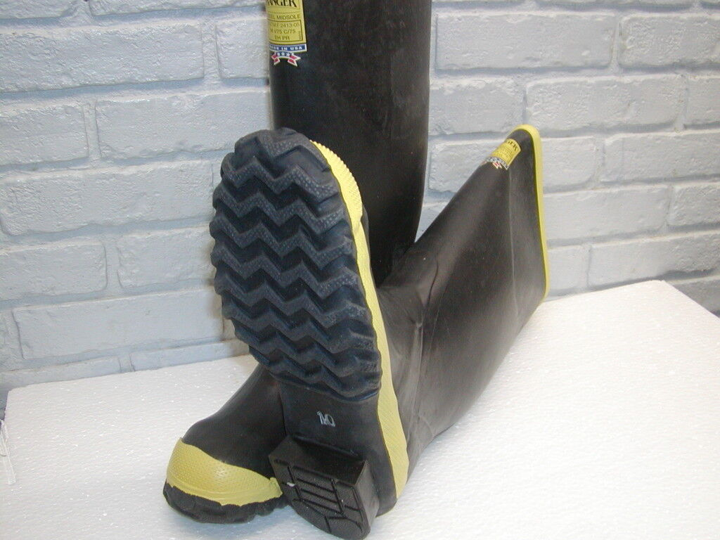 2144 Ranger  16  nominal  Safety Toe Rubber Knee Boot ASTM F2413-05 Made in USA