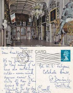 1986-THE-GUARD-CHAMBER-WINDSOR-CASTLE-WINDSOR-BERKSHIRE-COLOUR-POSTCARD