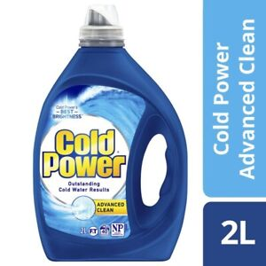 Cold Power Advanced Clean Laundry Liquid 2L