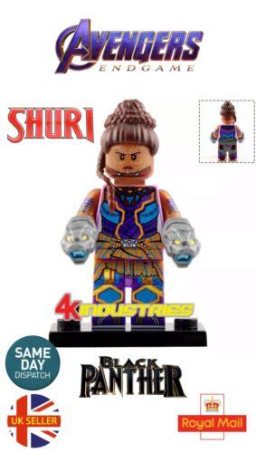 Shuri Princess Shuri Wakanda Mini Figure Black Panther Avengers UK Seller