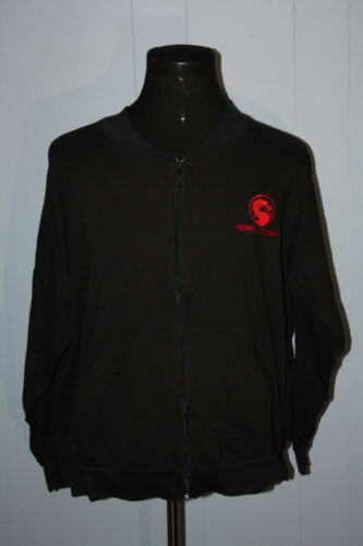 Vintage Mortal Kombat Full Zip Black Promotional W