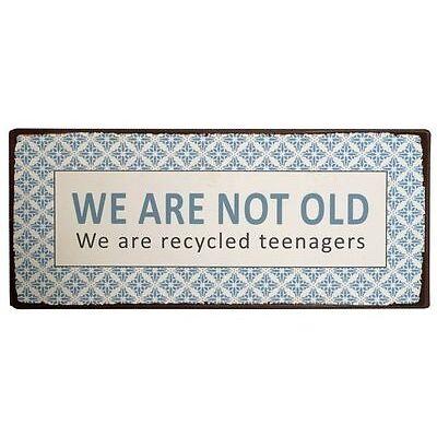 METALLSCHILD IB LAURSEN WE ARE NOT OLD  VINTAGE METALL