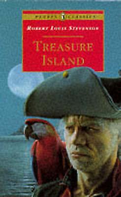 """AS NEW"" Treasure Island (Puffin Classics), Stevenson, Robert Louis, Book"