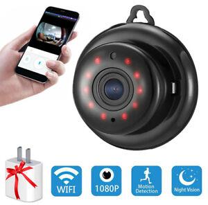 HD 1080P Wireless Mini Spy Camera Wifi IP Security Camcorder Night Vision DV  s`