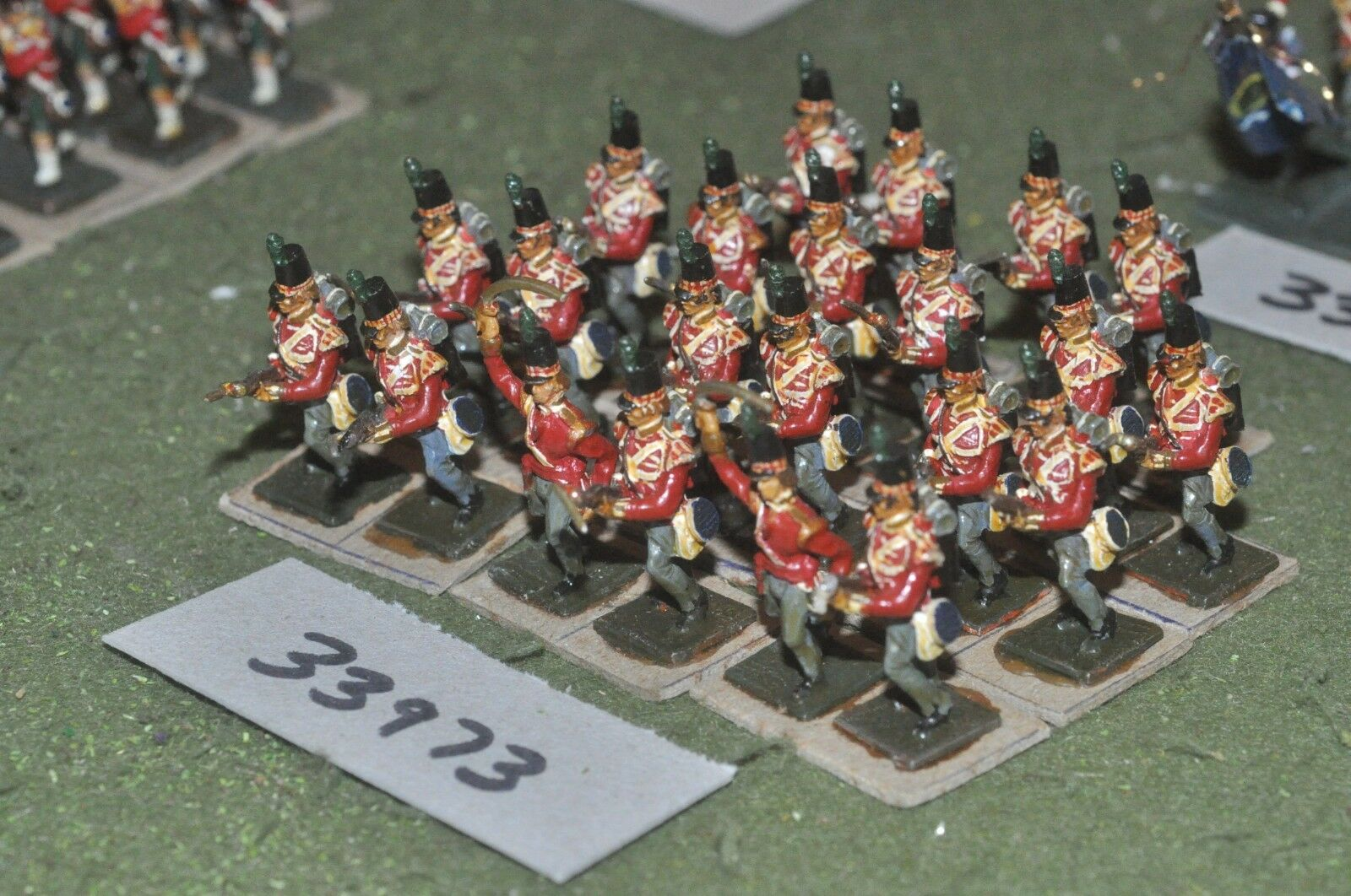 25mm napoleonic   british - scottish 22 figures - inf (33973)
