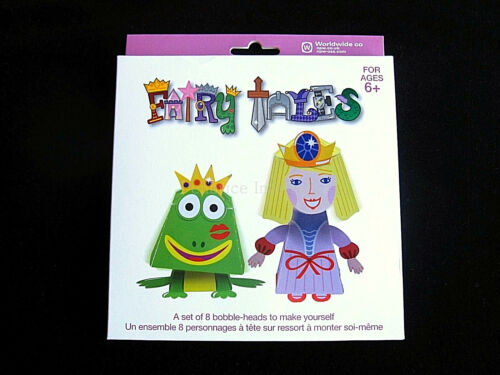 Bobble Heads  Paper craft Pack  CHRISTMAS GIFT XMAS PRESENT Idea Fairy Tales set