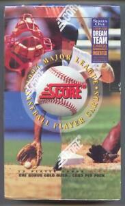 1994-Score-Series-1-Baseball-Box