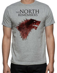 new arrival look out for outlet store sale Details about Game Of Thrones Direwolf Wolf The North Remembers Stark Logo  GOT Mens T-Shirt