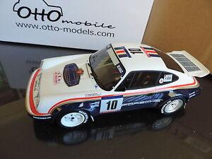 Porsche 911 Sc Rs Gr.   B Rothmans Tdc 1985 Tour Corse Ottomobile Otto Modèles 1/18