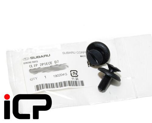 2x Genuine Air inlet intake Snorkel Conduit clip fits Subaru Modèles 09-19