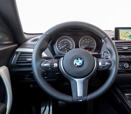 BMW NEW GENUINE F21 F20 F22 F30 F34 M SPORT STEERING WHEEL TRIM COVER 7846032