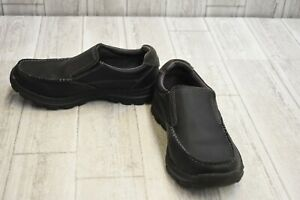 999195ead0ec8 Details about SKECHERS Relaxed Fit: Braver - Rayland Loafer - Men's Size  7.5EW - Black