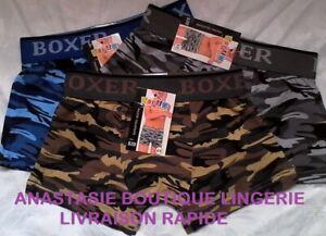 lingerielot3-boxers8-10anssousvetementenfantgarconcoton95-slipcaleconscamouflag