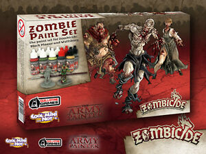 The Army Painter BNIB Zombicide Toxic Prison Expansion Paint Set