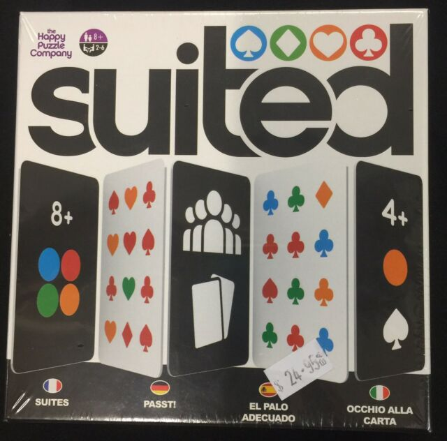 "Suited"" Card Game """