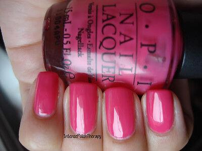 New Opi Nail Polish Vernis Strawberry Margarita Bright Pink Ebay