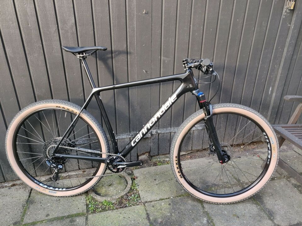 Cannondale F-SI Carbon 5, hardtail, XL tommer