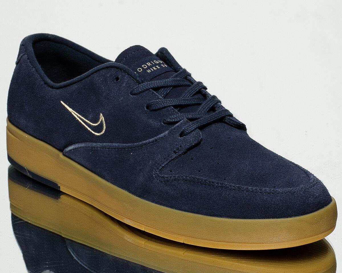 Nike SB Zoom P-stile di vita degli uomini Rod X Scarpe Da Ginnastica Nuove Thunder Blue 918304-400