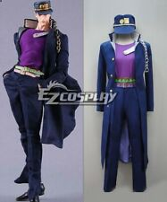 Details about  /JoJo/'s Bizarre Adventure Kujo Jotaro Outfit Cosplay Costume Marine Suit Uniform