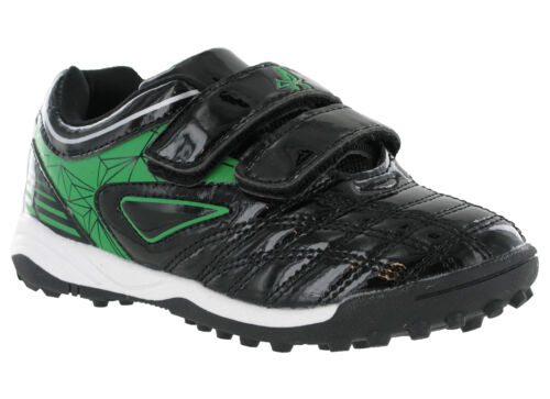 Football Astro turf touch Strap Sports Shoes Trainers Boys Kids UK8-2