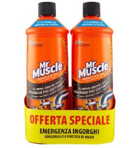 Mr-Muscle-Idraulico-Gel-3-in-1-Pacco-da-2-x-1000-ml